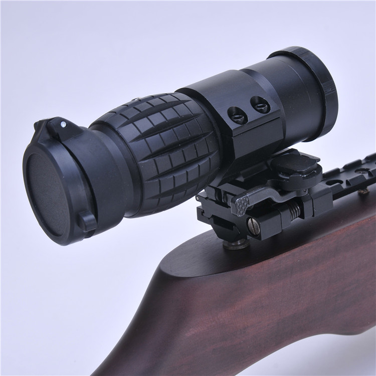 Magnified 3 times 3×30 pineapple rifle scope telescope hunting gunsight for camera bird waching