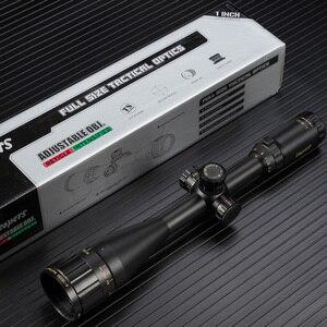 Image 5 - Leapers 4 16x50 riflescope tático óptico rifle scope vermelho verde azul ponto vista iluminado retical vista para caça escopo
