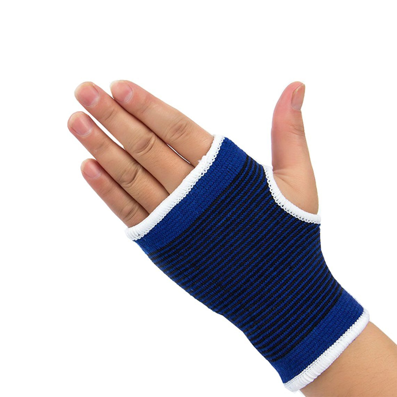 1Pair Wrist Hand Brace Gym Sports Support Wrist Gloves Hand Palm Gear Protector Carpal Tunnel Tendonitis Pain Relief 2