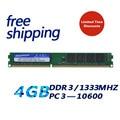 KEMBONA лучший проверенный Рабочий стол pc ddr3 4 Гб 1333 МГц ram оригинальный набор микросхем pc ram модуль памяти для всех материнских плат Бесплатная ...