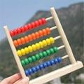 Brinquedo de Aprendizagem Da Primeira Infância Montessori Crianças Matemática Abacus Brinquedo Colorido Preschool Brinquedos de Treinamento