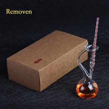Vintage Crystal Glass Dip Pen with Creative Penholder Gift Box Set Calligraphy Drawing Pen Student Valentine