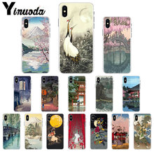 Yinuoda Ukiyo-e Japanese style Art Drawing Phone Case cover Shell for Apple iPhone 7 8 6 6S Plus X XS MAX 5 5S SE XR Cover(China)