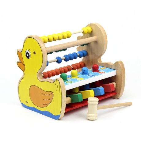 Math Toys 1-3 years old baby educational toys wooden subtract mathematics kids toys soroban alphabet abacus