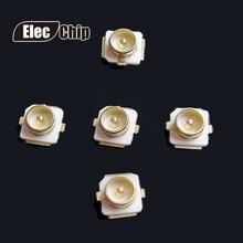 10 PCS U.FL-R-SMT U. FL IPEX socket/IPX conectores RF Conector Coaxial Antena Bloco 20279-001E