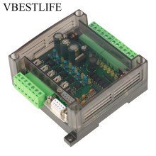 FX1N-14MT PLC Motor Regulator Industrial Control Board Programmable Controller For Stepper Motor wecon lx 20 i o cost effective plc plc controller for industrial control