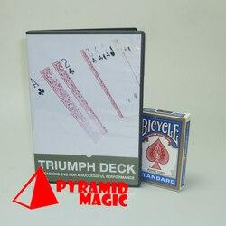 triumph deck magic makers close up Street mentalism Classic card magic tricks