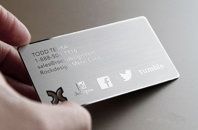 High Quality Metal Card Business Cards And Plastic Supply