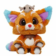 GGS 40cm League LOL Hot Game Gnar Plush Soft Stuffed Plush Toys Doll Perfect for Christmas