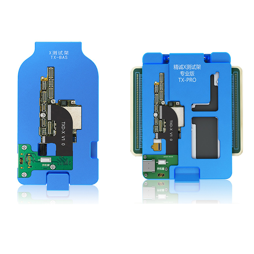 JC TX BAS TX PRO Professional X Mainboard Layered Testing Fixture for iPhone X Mainboard Layered