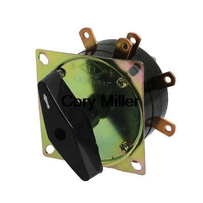 380VAC 40A 9 Terminals Rotary Selector Changeover Switch for Welding Machine