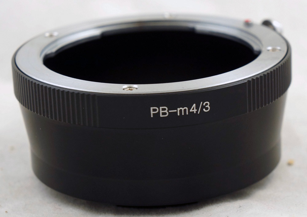 Praktica PB Lens to Micro M 4 3 M43 Adapter ring for G1 G3 GH1 GF1