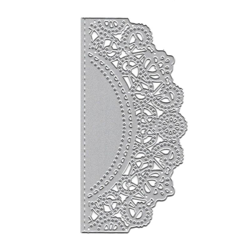 Cover Lace Design Metal Cutting Die For DIY Scrapbooking Album Paper Card /&