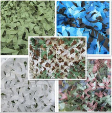 Loogu 9 colors  4M*5M camouflage netting camo net for forest pretend exposure pool shade shed party decoration car covers