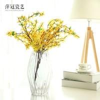 O.RoseLif Brand New Glass Clear Glass Flower Arrangement Terrarium Vase Decoration Home Decoration Vase for wedding decoration