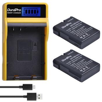 1200 mAh EN-EL14 EN EL14a Batterie + LCD USB Chargeur Pour Nikon D3100 D3200 D5100 D5200 DF P7000 P7100 P7200 P7700 P7800 Caméra