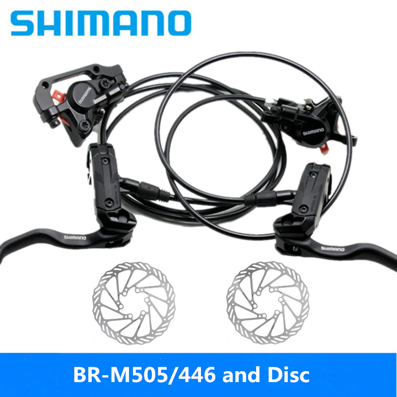 27s 85cm-145cm Oil Brake Mountain Bike Finger Dial Disc Brake And Rt56 Disc Pretty And Colorful Bicycle Parts New Original Shimano Alivio Br-m4050 9s Sports & Entertainment