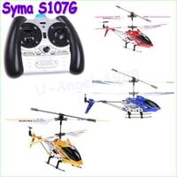 3.5CH RC Máy Bay Trực Thăng Điều Khiển Vô Tuyến gyro Kim Loại Syma S107G S107 hợp kim thân máy bay R/C Helicoptero Miễn Phí Vận Chuyển