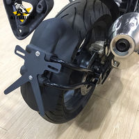 For 2017 2018 BMW G310GS G310R Motorcycle ABS Black Rear Mudguard Mount Wheel Tire Hugger Mud Guards Fender Splash Guard