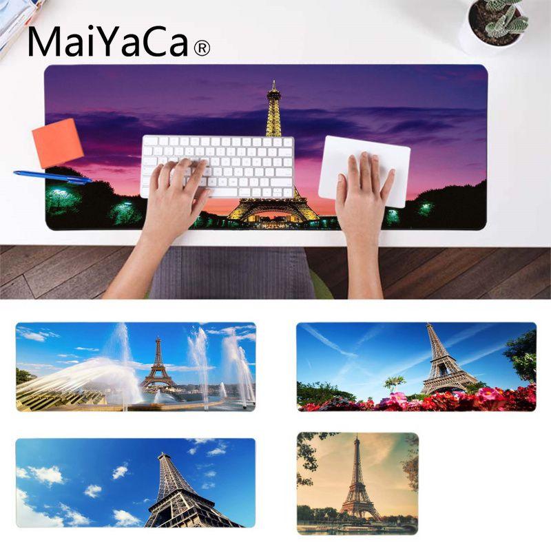 Gematigd Maiyaca Eenvoudig Ontwerp Eiffeltoren Parijs Frankrijk Anti-slip Duurzaam Siliconen Computermats Rubber Muis Duurzaam Desktop Mousepad Om Een Hoge Bewondering Te Winnen En Is Op Grote Schaal Vertrouwd Thuis En In Het Buitenland.