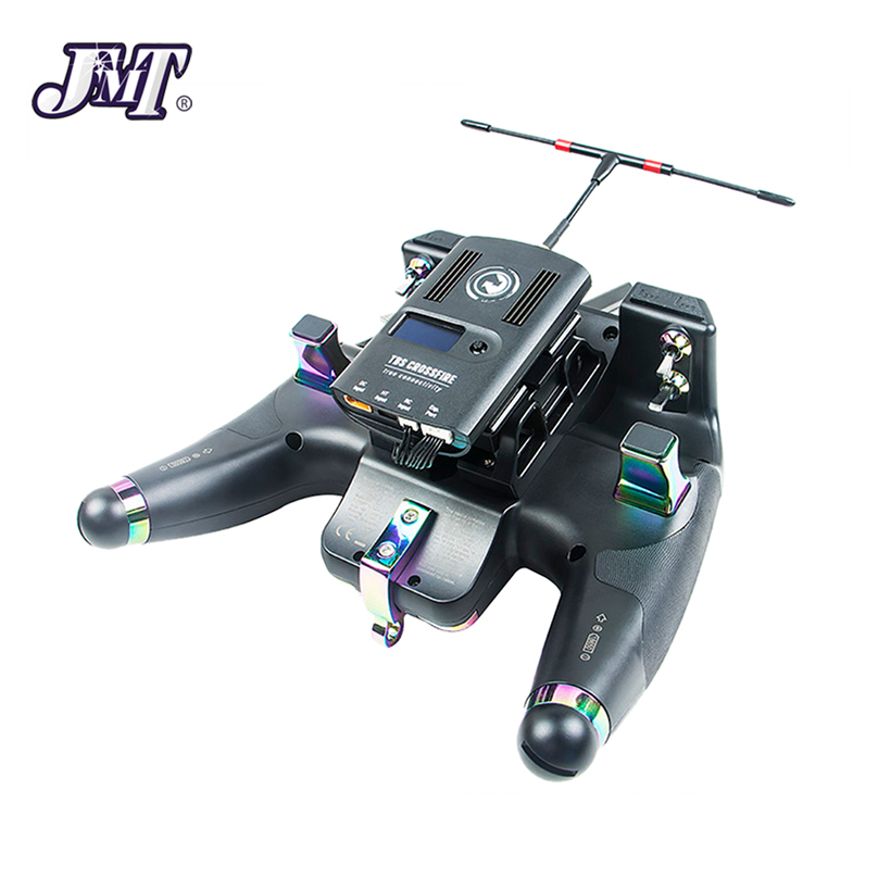 JMT Flysky FS-NV14 2.4G 14CH Nirvana RC Transmitter Remote Controller with iA8X + X8B Dual Receiver 3.5 Inch Display Open Source flysky fs nv14 2 4g 14ch nirvana remote controller transmitter open source with ia8x rx for fpv racing drone rc helicopter