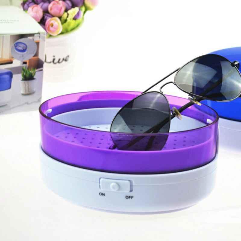 USB Ultra Sonic Cleaner Mandi Timer untuk Perhiasan Bagian Kacamata Manikur Batu Pemotong Gigi Razor Sikat Ultrasound Sonic