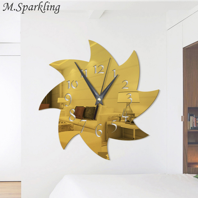 3D Acrylic Mirror Wall Stickers Plastic Removable Hot Wheels Art ...
