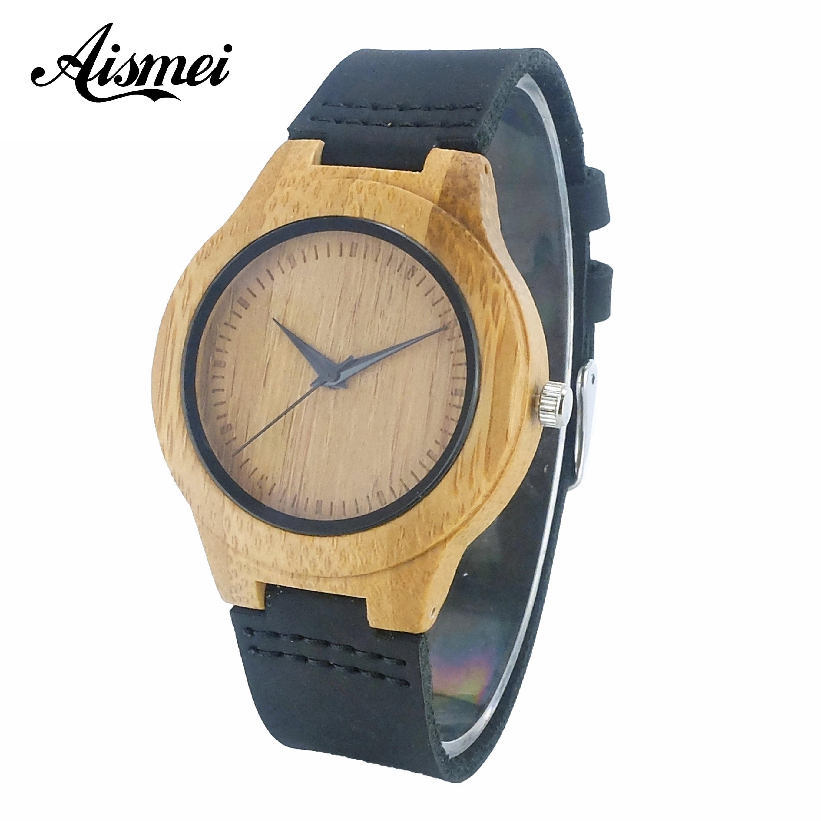 2017 Top Brand Wood Women Quartz Watch Lady Luxury Fashion Dress Clock Classic Wooden Female Wristwatch Gift relogio feminino