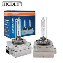 Hcdlt Оригинальный 12 V 35 W HID ксеноновая лампа D1S 6000 K 8000 K Авто заменяемая лампочка для фар 5000 K 4300 K 55 W D3S ксеноновая лампа