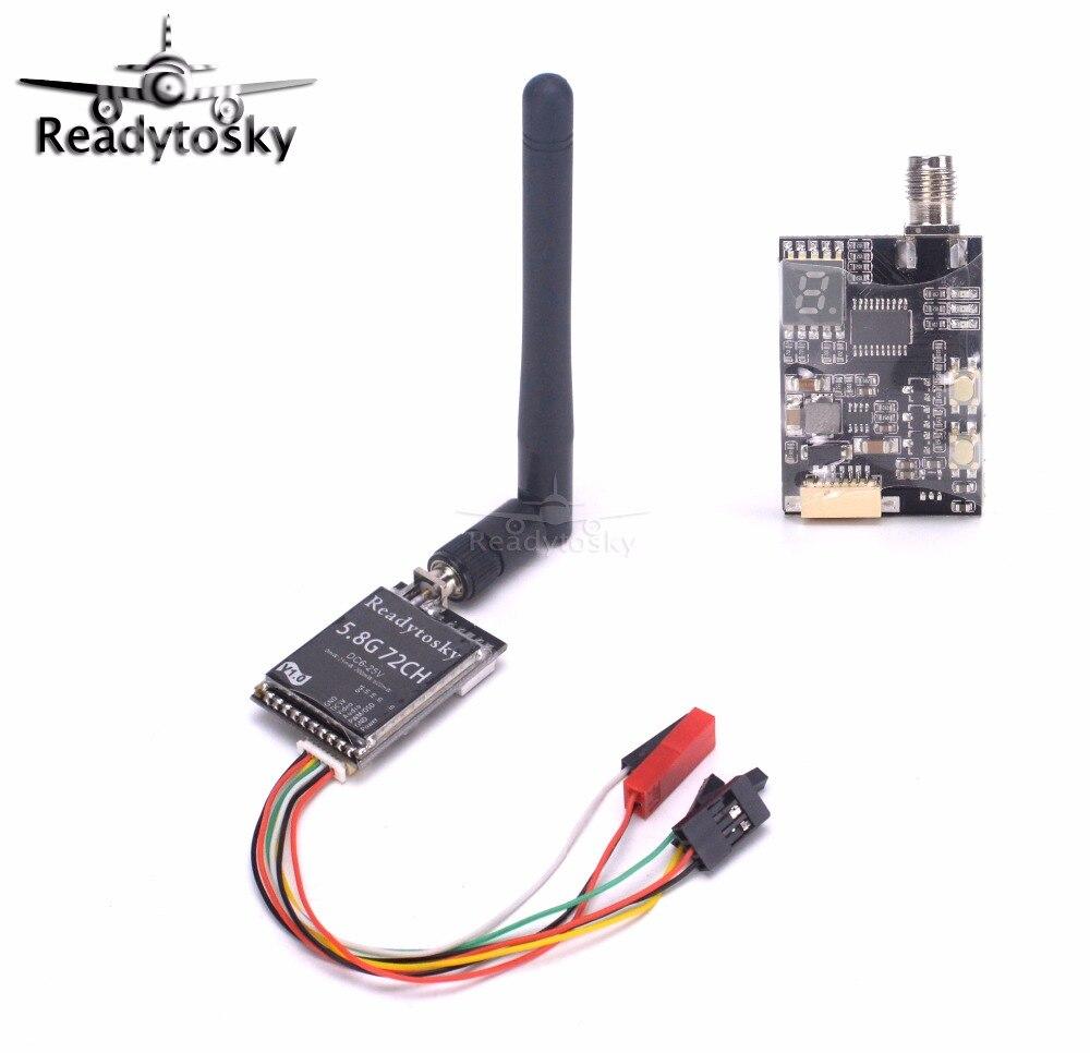 ReadytoSky 5.8Ghz 72CH 25mW 200mW 600mW Switchable FPV AV Transmitter for TX801 Racing Drone fx fx796t fx799t micro 5 8g 40ch 200mw av race transmitter