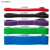 Set of Fitness Band Rubber Resistance Band Gym Equipment Expander Workout Rope Exercises Crossfit Pull Up Strengthen Muscles