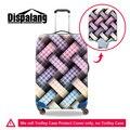 Dispalang упругой чемодан пылезащитный чехол от дождя водонепроницаемый багаж защитной крышки для 20 22 24 26 28 30 дюймов случай вагонетки протектор