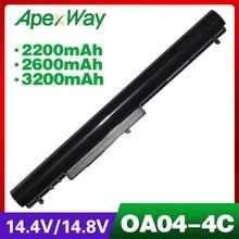 ApexWay 14.4V Laptop Battery for HP Compaq Presario HSTNN-LB5S OA04 OA03 TPN-F113 HSTNN-LB5Y HSTNN-PB5Y 740715-001 746458-421 genuine laptop vt06xl battery for hp hstnn db3f hstnn ib3f tpn i103 vt06 vt06086xl 657240 271 657503 001 657240 151 657240 171