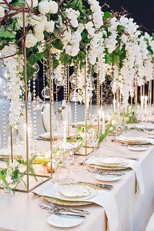 Aliexpress com : Buy Wedding flower stand Metal Gold Color Flower Vase Table Centerpiece Wedding