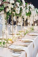 Wedding flower stand Metal Gold Color Flower Vase Table Centerpiece Wedding Decoration 10pcs/lot free shipping
