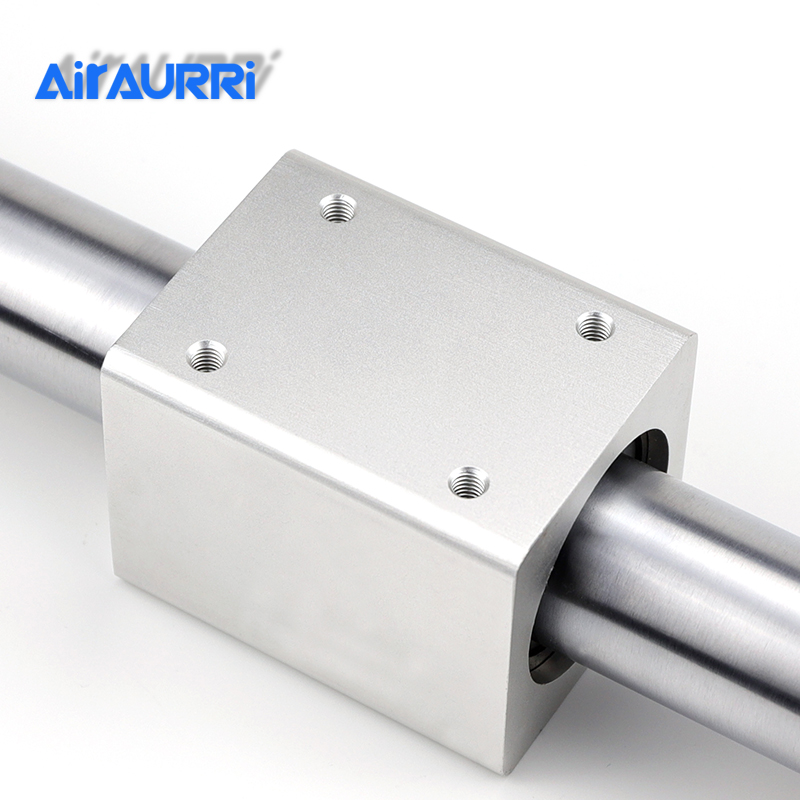 CY1B25 SMC type Magnetically Coupled Rodless Cylinder Basic bore 0mm stroke 500mm aluminum alloy pneumatic air cylinder in Pneumatic Parts from Home Improvement