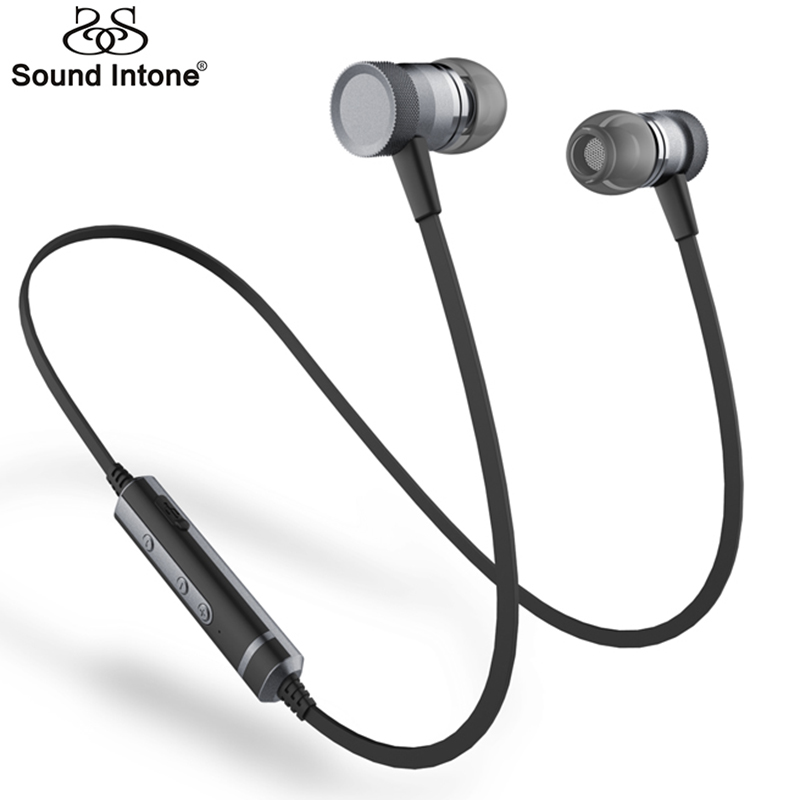 buy sound intone h6 bluetooth earphones running sport with mic wireless. Black Bedroom Furniture Sets. Home Design Ideas