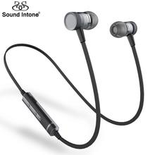 Sound Intone Picun H6 В Ухо Беспроводная Связь Bluetooth Наушники Запуск Спорт с Микрофоном Гарнитуры Бесплатные Звонки для iPhone Xiaomi Android