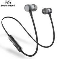 Sound Intone Picun H6 In Ear Wireless Bluetooth V4 1 Earbuds Runner Sport Earphones With Microphone