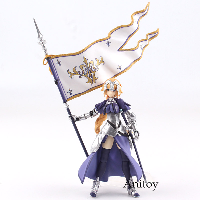 Anime Figma 366 Figma Fate Grand Order Figure Ruler Jeanne d'Arc Doll PVC Action Figure Collectible Model Toy Gigt for Girls figma sp 056 the thinker pvc action figure collectible model toy 15cm doll table figure for decoration