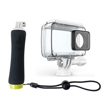 YI Accessory Bundle Waterproof Set For Action Camera Waterproof Case&Floating Grip Underwater Swimming Diving Snorkeling Surfing