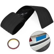 Black Crash Proof Rubber Strip For Car Trunk Rubber Cover Guard Molding Trim