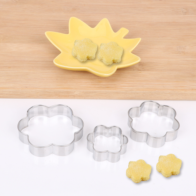 Stainless Steel Cookie Molds Set