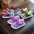 Весна Мужская Воздуха Mesh Дети Повседневная Shoes Boys Running Shoes Kids Fashion Кроссовки Девушки Путешествия Shoes CS0004