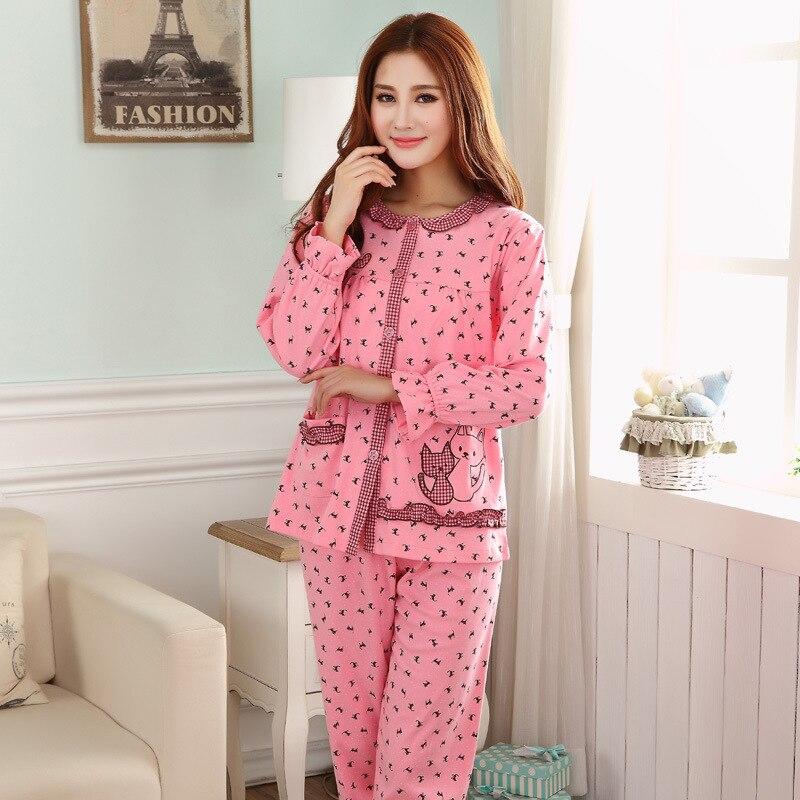2016 Bathrobe Associating Beauty Sleep S New Age Season Women Long Sleeve Household To Take The Beautiful Princess Cotton