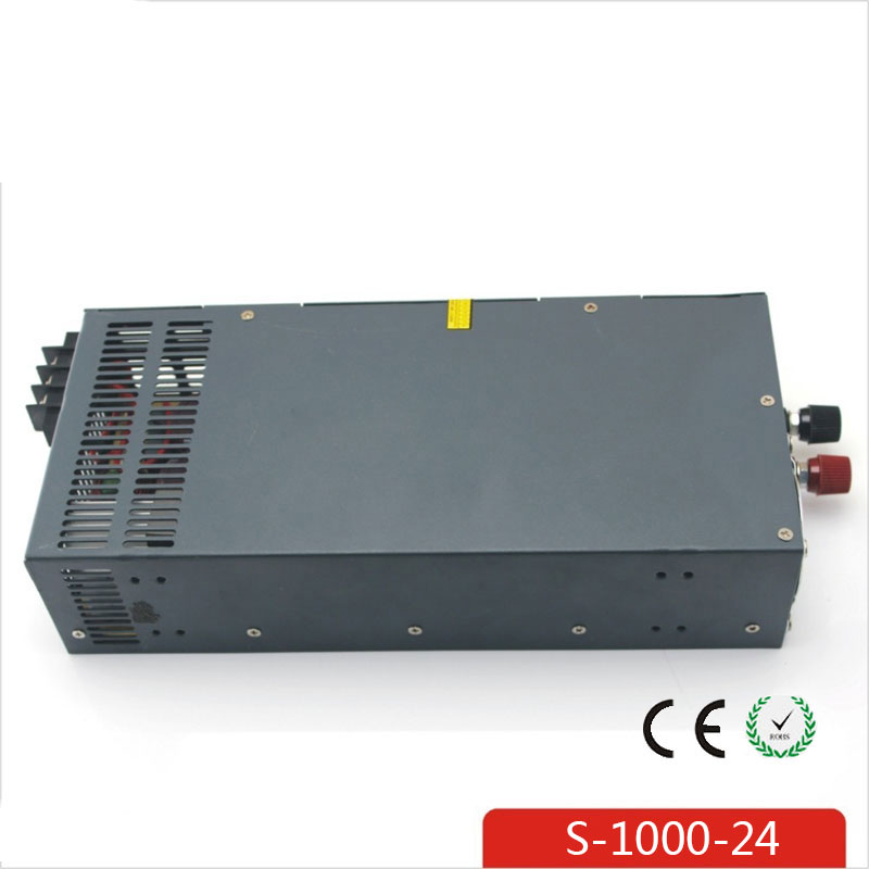 CE Soro 220V INPUT 1000W 24V 42A power supply Single Output Switching power supply for LED Strip light AC to DC UPS ac-dc цена