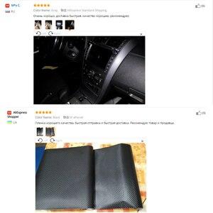 Image 5 - 200 ミリメートル x 1520 ミリメートル 4D 炭素繊維光沢のあるビニールラップシートフィルムオートバイ自動車のカーアクセサリー装飾バブル空気送料