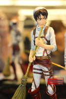 Japanese anime figure Attack On Titan Eren Jaeger action figure collectible model toys for boys