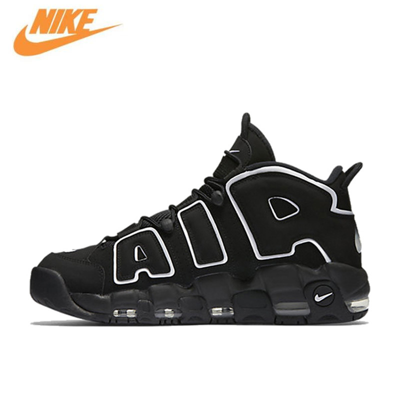 Nike Air More Uptempo Men's Breathable New Arrival Authentic Basketball Shoes Sports Sneakers все цены