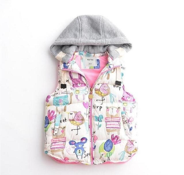 c3187552ff97 Y1894548 Autumn toddler baby Vest for Girl Vest warm Waistcoat ...